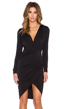 Misha Collection Gloria Dress in Black