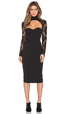 Misha Collection Carolena Dress in Black