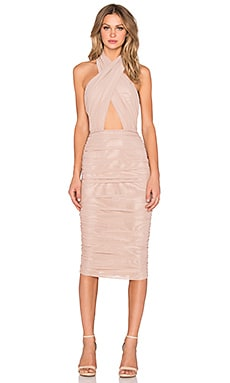 Keziah Dress in Nude