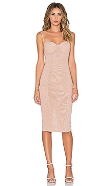 Misha Collection Adreanna Dress in in Nude