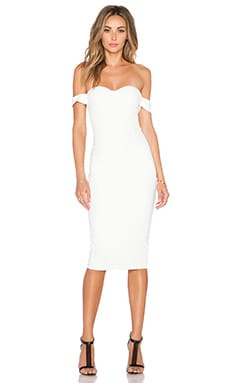 Misha Collection Chloe Dress in Ivory