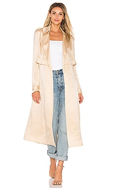 Gelloma Silk Trench