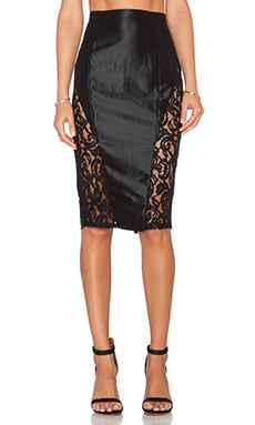 Misha Collection Vivien Skirt in Black