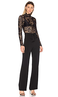 x REVOLVE Allegra Jumpsuit in Black