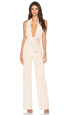 Misha Collection Melita Pantsuit in Mink