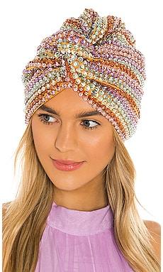 Malibu Turban Maryjane Claverol $442 NEW ARRIVAL