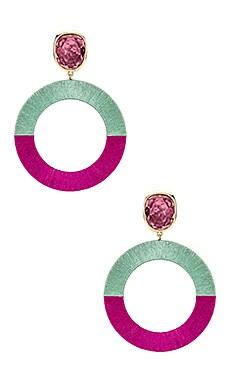 Jenna Earrings Maryjane Claverol $280 NEW ARRIVAL