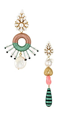Pinata Mismatched Earrings Maryjane Claverol $88