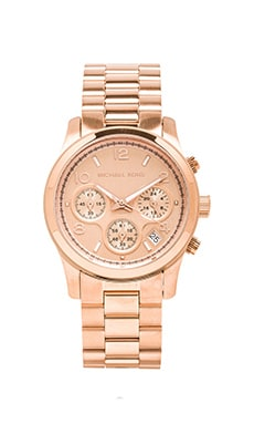 Runway Watch en Rosegold