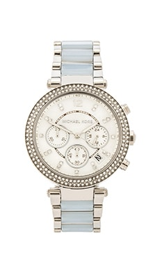 Michael Kors Parker in Silver & Chambray