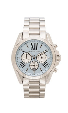 Michael Kors Bradshaw in Silver & Chambray