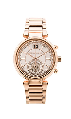 Michael Kors Sawyer Watch in Rose