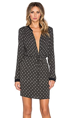 MKT studio Rene Long Sleeve Dress in Black