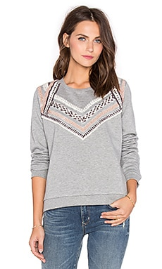 MKT studio Saroya Sweater in Melange Grey