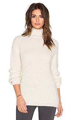 MKT studio Killer Turtleneck Sweater in Ecru
