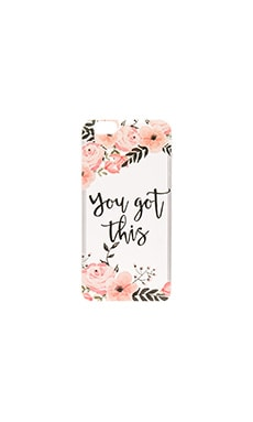 You Got This iPhone 6/6s Case en Rose