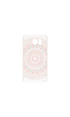 Milkyway Cases Anna Mandala Galaxy S6 Case in Pink & Mint