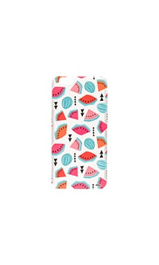 Geometric Watermelon iPhone 6/6s Case en Imprimé