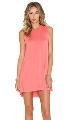 Michael Lauren Gilly Mini Dress in Tea Rose
