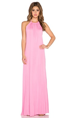 Michael Lauren Pedro Halter Maxi Dress in Double Bubble