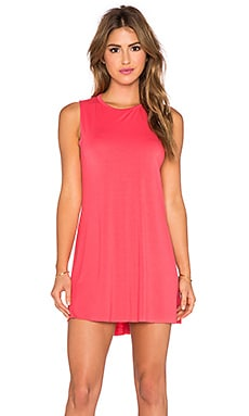Michael Lauren Gilly Sleeveless Dress in Pinktastic