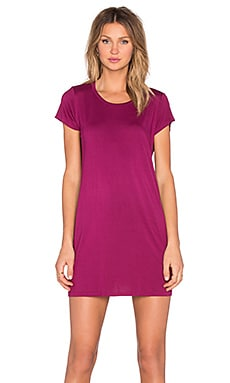 Michael Lauren Cuba Mini Tee in Mystic Plum