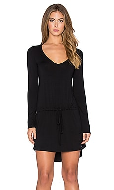 Michael Lauren Noel Dress in Black