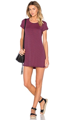 Michael Lauren Cuba Dress in Navy & Red