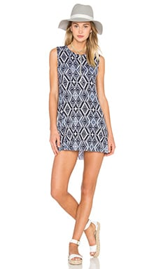 Michael Lauren Gilly Dress in Faded Navy