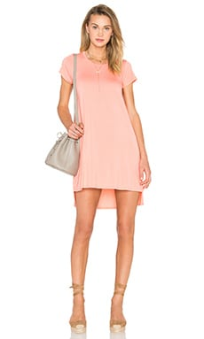 Michael Lauren Lucky Dress in Pink Salmon