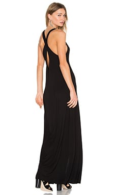 Michael Lauren Grady Tank Dress in Black
