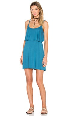 Michael Lauren Marlow Fiesta Dress in Spruce Blue