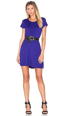 Michael Lauren Cuba Mini Dress in Purple Moon