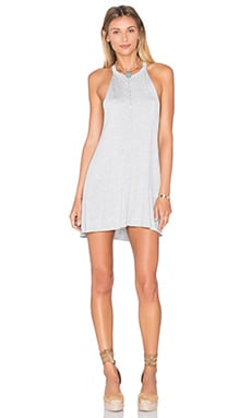 Michael Lauren Scotty Dress in Heather Grey