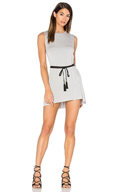 Michael Lauren Gilly Dress in Heather Grey