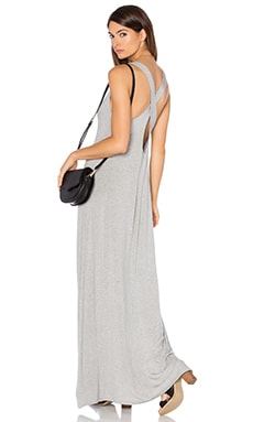 Grady Maxi Tank Dress in Heather Grey