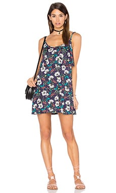 Michael Lauren Marlow Fiesta Mini Dress in Midnight Floral