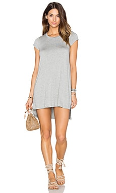 Michael Lauren Lucky Dress in Heather Grey