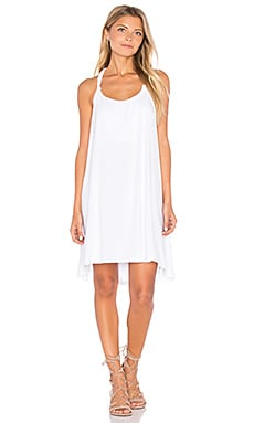 Michael Lauren Enrico Dress in White