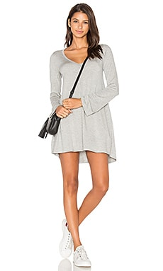Michael Lauren Kyle Dress in Heather Grey