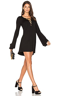 Jimi Mini Dress in Black