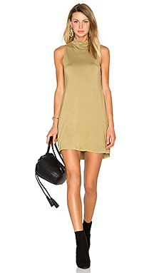 Tripp Mini Dress in Olive Ash