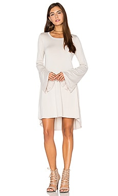 Kipp Mini Dress in Dove