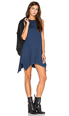 Joffrey Mini Dress in Port Navy