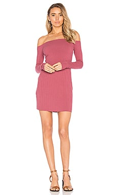 Karl Off Shoulder Dress in Rose Garden