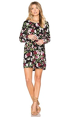 Valentino Shift Dress in Nightbloom