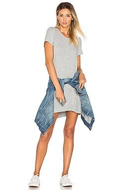Cuba Shirt Dress in Heather Grey