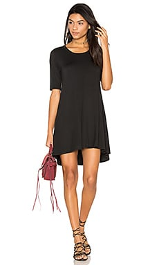 Michal Mini Dress in Caviar