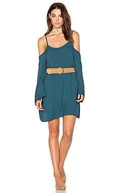 Gillis Bell Sleeve Dress in Tidepool