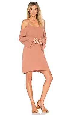 Gillis Bell Sleeve Dress in Chai